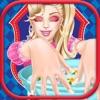 享受美甲:装扮女孩长发公主 生孩子 智力 儿童游戏免费
