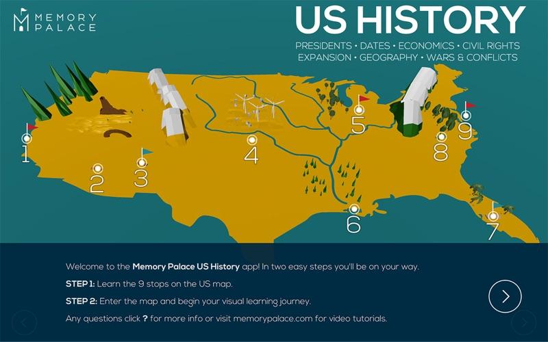 点击获取Memory Palace - US History