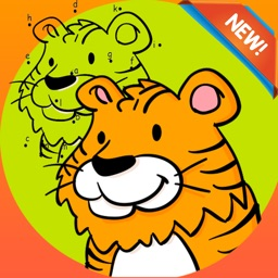 Brain dots Coloring Book - coloring pages dot games free for kids and toddlers