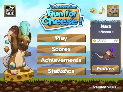 Run for Cheese на iPad