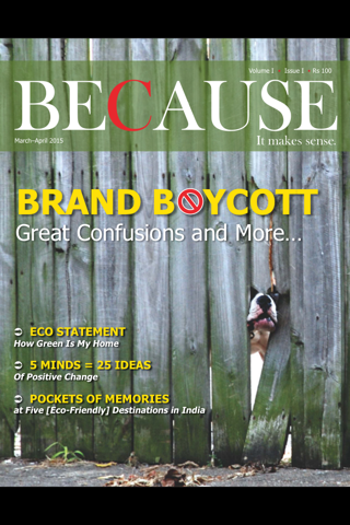Because (Magazine) - náhled