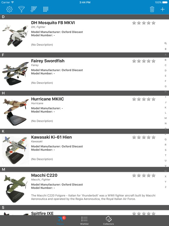 Model Plane Collectors: Revell, Tamiya, ICM Airfix