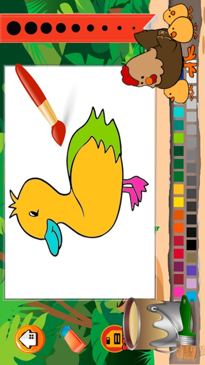 Animal Farm Coloring Book - Color Your pages and Paint the Animals of the Farm Drawing and Painting Games for Kids screenshot-3