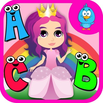 Free ABCs Princess Coloring Book