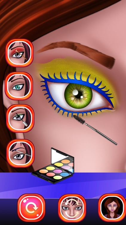 Eye Makeup Beauty Salon for Girls : makeover game for girl and kids ! FREE screenshot-3