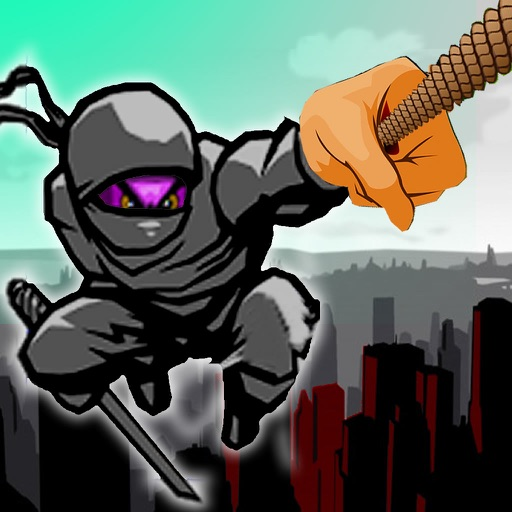 Rope Ninja Madness - Chase Jump Swing icon