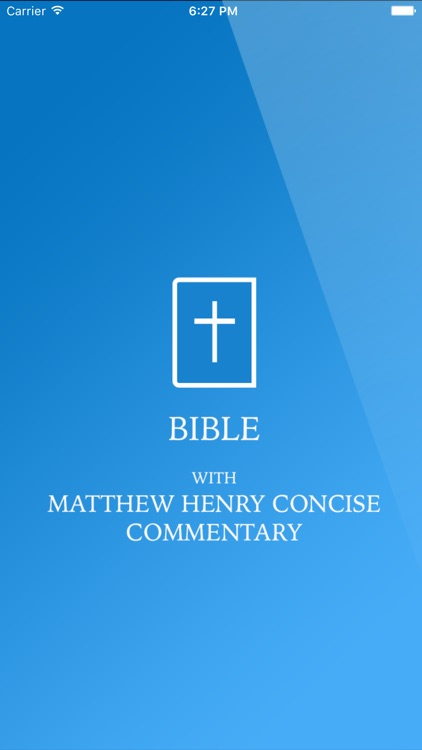 Bible With Matthew Henry's Concise Commentary