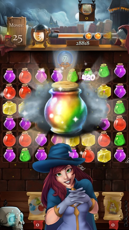 Witch Castle: Magic Wizards Match 3