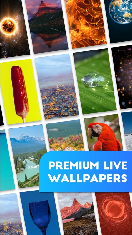 Live Wallpapers - Animated Themes & Backgrounds for iPhone 6S , 6S plus & iPhone SE screenshot-0