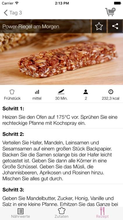 7 Tage Diät - Rezepte Coach screenshot-3