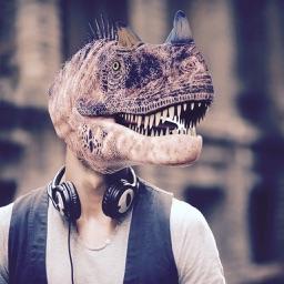 Dino Face Camera Free