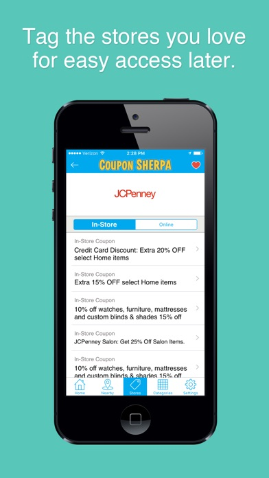 Coupon Sherpa: Free Coupons, Shopping, Local Deals app image