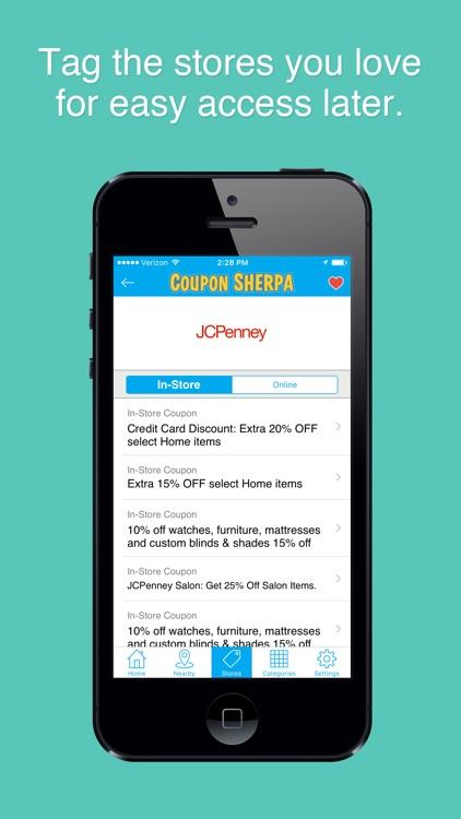 Coupon Sherpa: Free Coupons, Shopping, Local Deals screenshot-3
