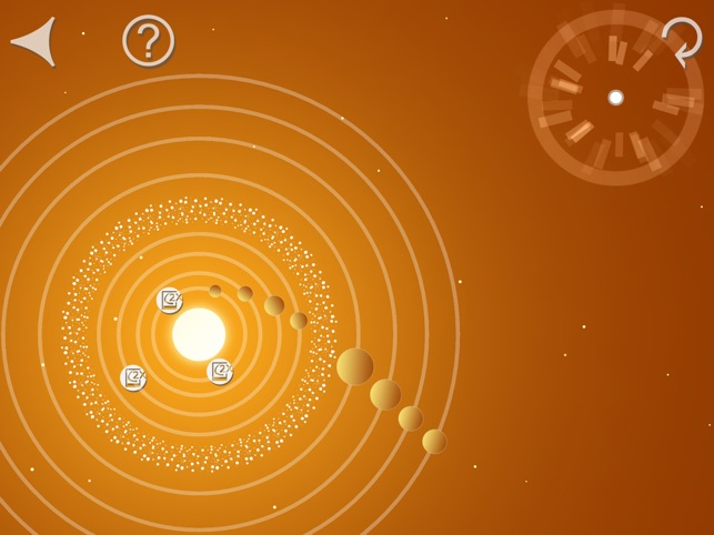 Orbit Path - Space Physics Game Screenshot