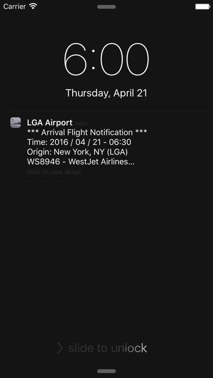 US New York LaGuardia Airport Flight Info screenshot-3
