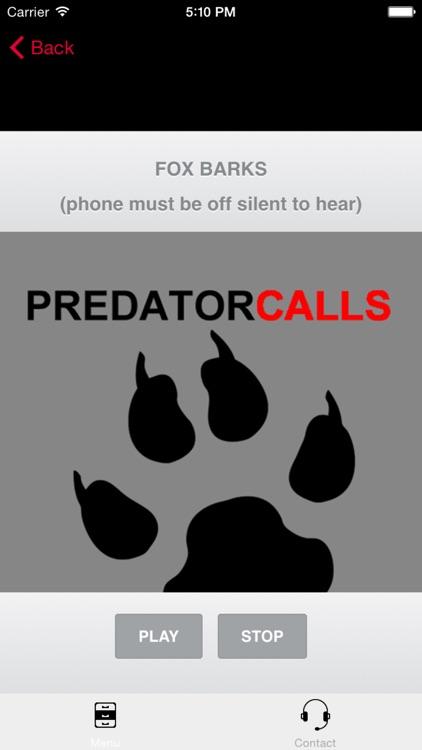 REAL Predator Hunting Calls - 40+ HUNTING CALLS! screenshot-0