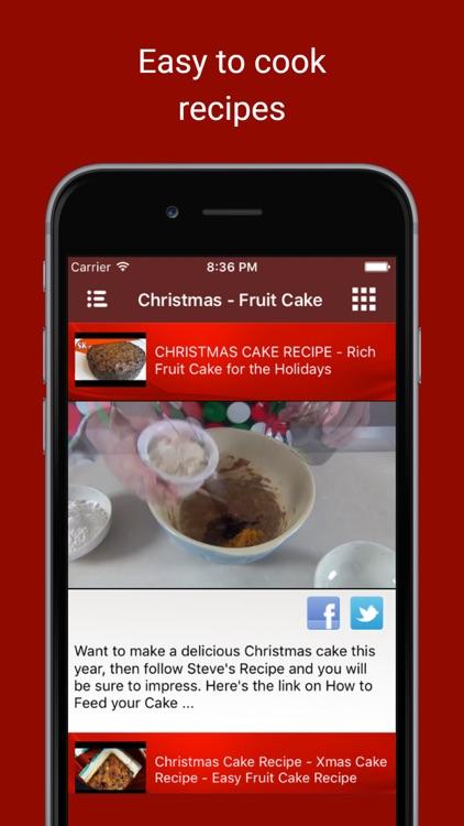 Delicious Christmas Cake Bakery Food Recipe Videos
