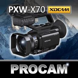PROCAM for Sony PXW X70