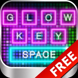 Glow Keyboard FREE - Customize & Theme Your Keyboards