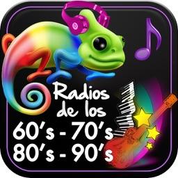 Emisoras de Radio de Música de los años 60s 70s 80s & 90s