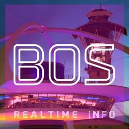 BOS AIRPORT - Realtime Flight Info - LOGAN INTERNATIONAL AIRPORT (BOSTON)