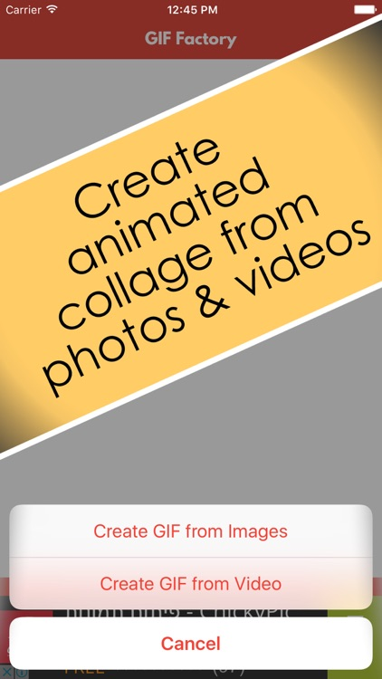 Insta GIF movie maker - An easy way to make animated collage from photos and videos