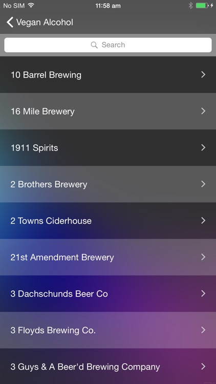 Vegan wine, beer, and liquor guide screenshot-1