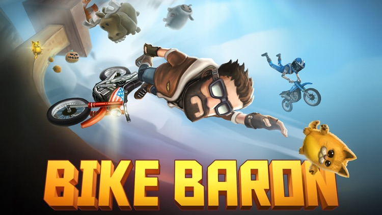 Bike Baron screenshot-3