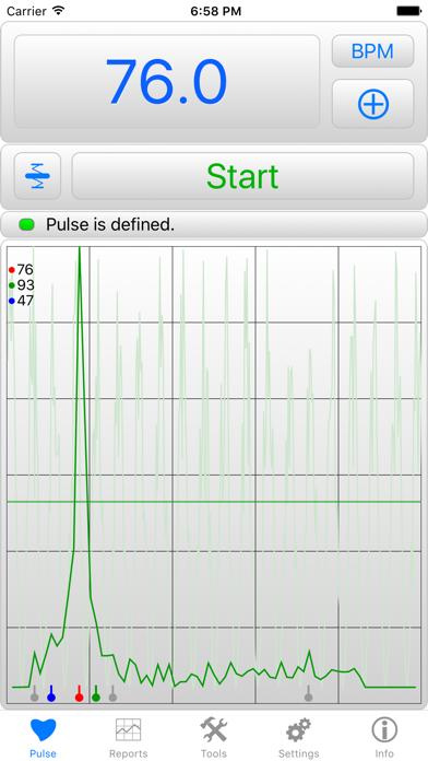 iHeart – Pulse Reader Screenshot 1