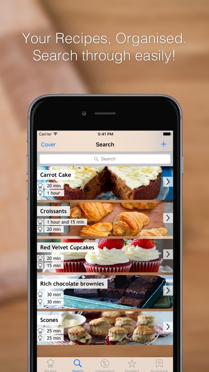 Recipe Box - Your Recipe Cook Book in your pocket, get to your recipes when cooking or baking in the kitchen! screenshot-3