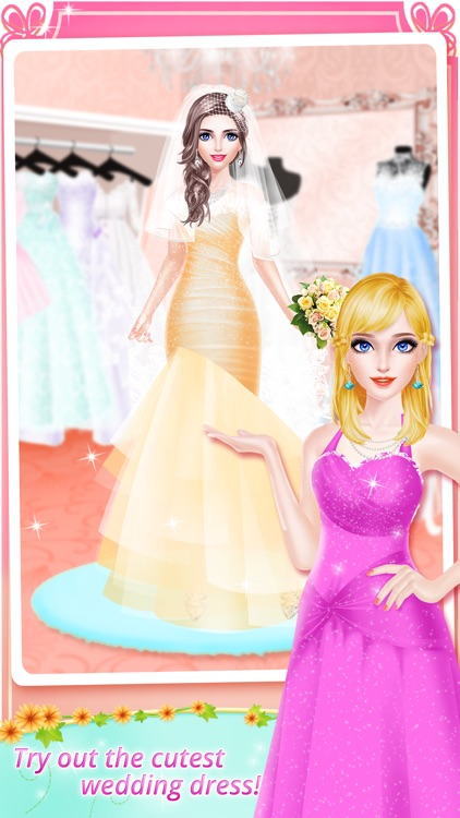 BFF Bridesmaid Salon - Wedding Day: Bridal SPA Makeup Makeover Games for Girls screenshot-3