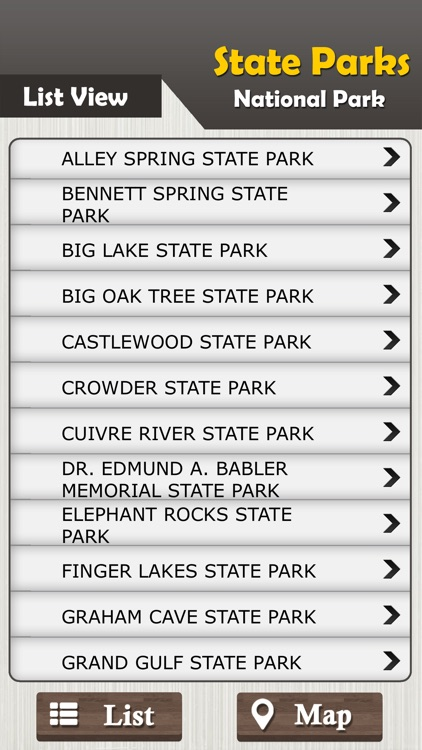 Missouri State Parks & National Park Guide screenshot-2