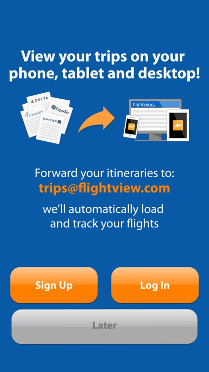 FlightView Free - Real-Time Flight Tracker and Airport Delay Status screenshot-3