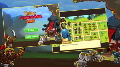 Screen Shot Three Kingdoms War: -  Heroes  Clash TD  Game 0