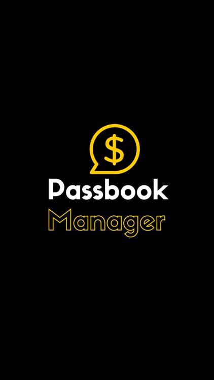 Passbook Manager