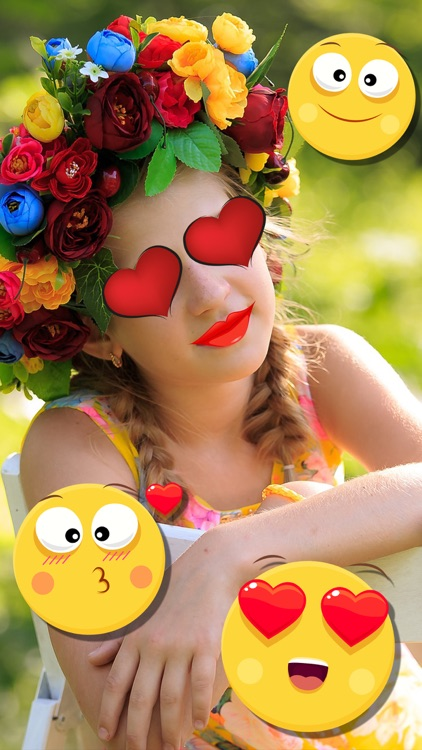Snap photo editor of photos for face effects with stickers for selfies - Premium screenshot-4