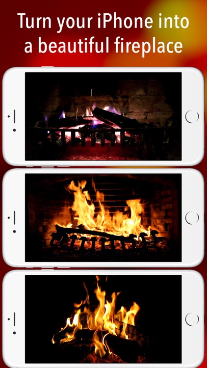 Fireplace live backgrounds & relaxing sounds