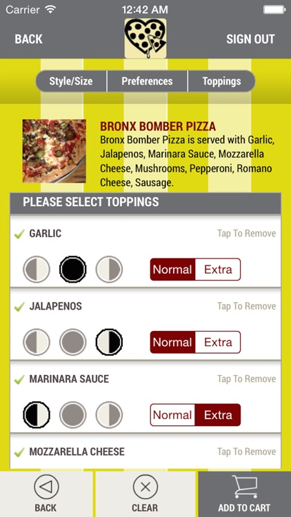 Two Saucy Broads Pizza screenshot-3