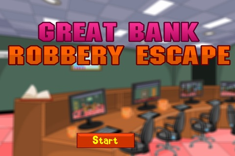 Great Bank Robbery Escape - náhled