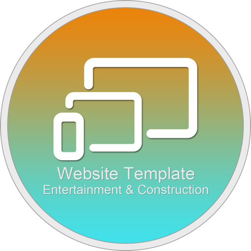 Website Template (Entertainment & Construction) With Html Files Pack6