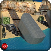 Army Bridge Building: A Realistic Driving and Parking Construction Operator