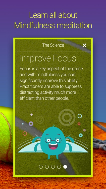 Welzen Tennis - Guided meditation app for pros screenshot-3