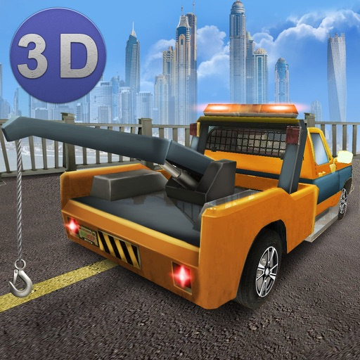 Tow Truck Driving Simulator 3D - Try tow truck driving in our transport simulator!