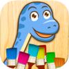 Colorear dinosaurios - juegos de dinos para pintar