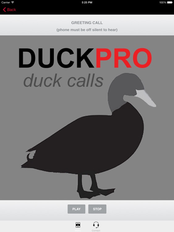 Duck Calls and Duck Sounds for Duck Hunting + BLUETOOTH COMPATIBLE screenshot-0