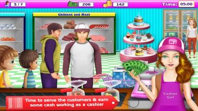 Supermarkt-Kasse & Einkaufen MädchenScreenshot von 2