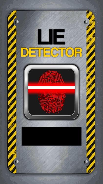 Lie Detector Fingerprint Truth or Lying Scanner Pro Touch Test HD +