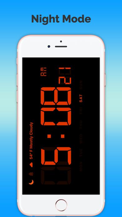 タイムクロック - 天気予報無料のおすすめ画像2