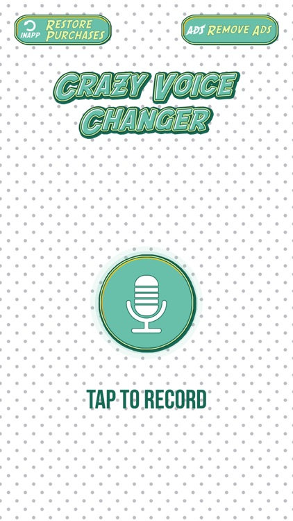 Crazy Voice Changer & Recorder – Prank Sound Modifier with Cool Audio Effects Free screenshot-3