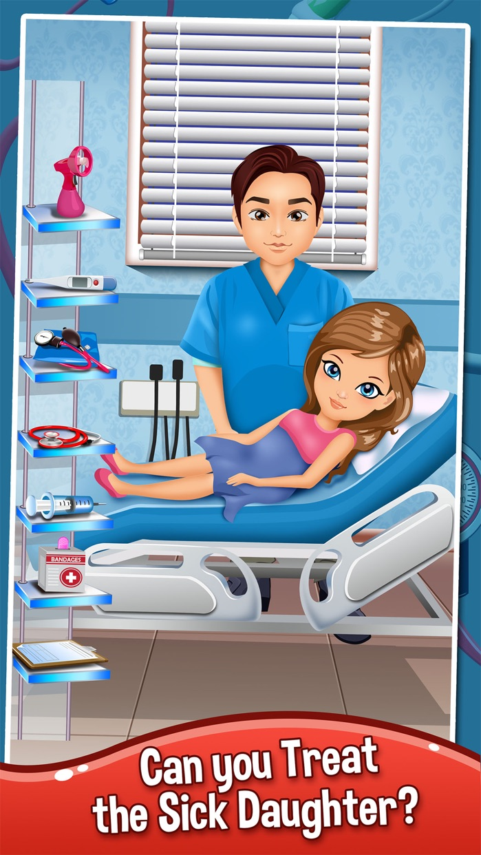 Baby Doctor Salon Spa Makeover Kid Games Free Screenshot